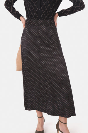 Load image into Gallery viewer, Faith Skirt - Black