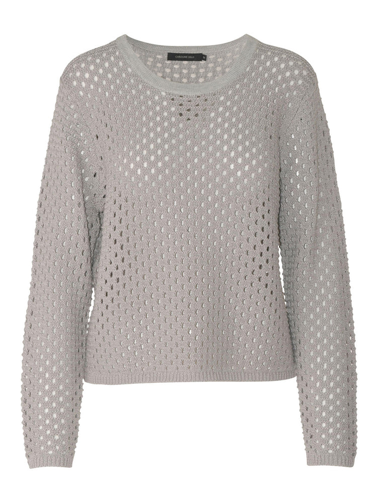 Load image into Gallery viewer, Verde Crochet Jumper - Mist