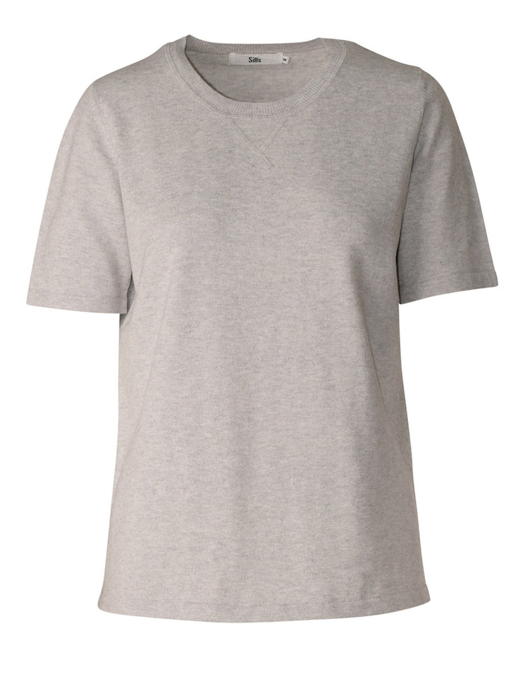 Load image into Gallery viewer, Catalina Knit Tee - Grey Marle