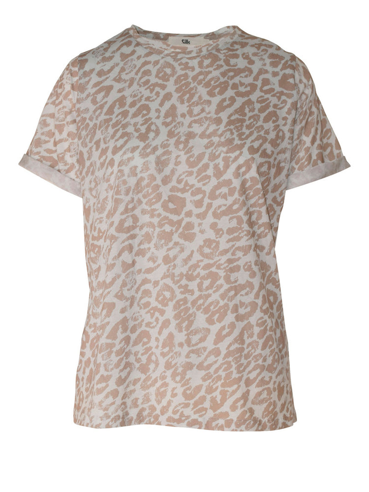 Le Kitty Tee - Light blue/Frappuccino