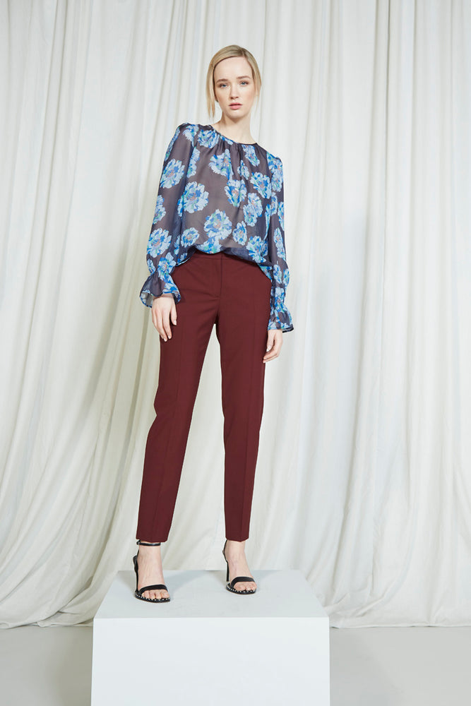 Gaby Blouse - Blue