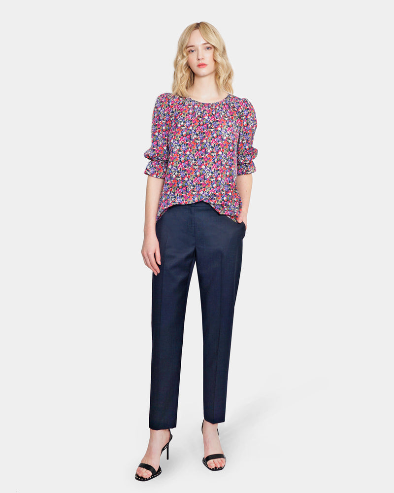 Load image into Gallery viewer, Felicity Blouse navy