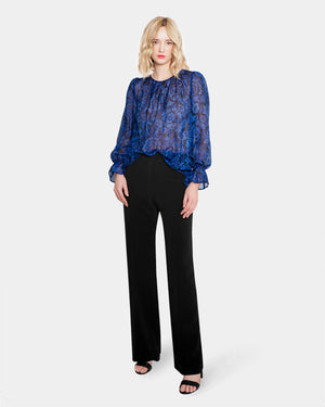 Load image into Gallery viewer, Gaby Blouse - Indigo