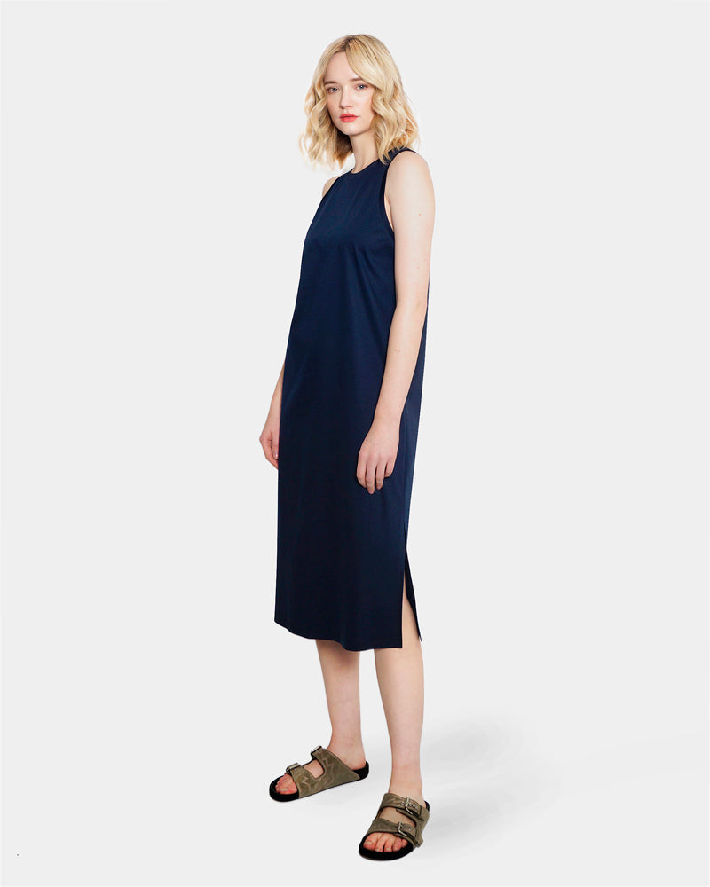 Load image into Gallery viewer, Tank Dress - Navy