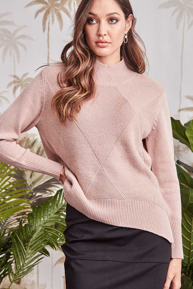Insight Sweater - French Pink