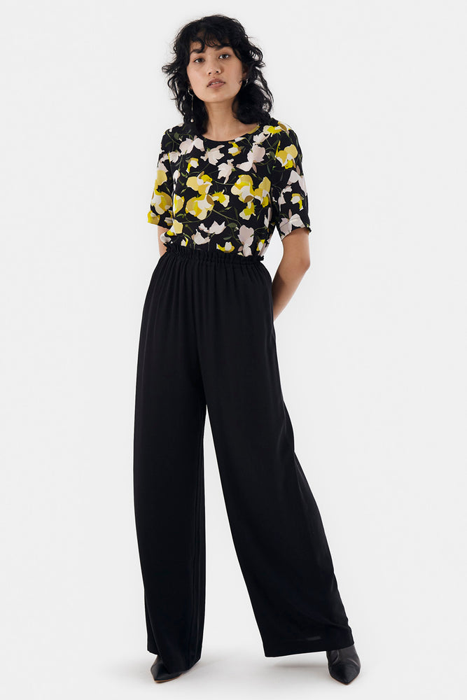 Load image into Gallery viewer, Lula Top - Black Lemons