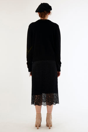 Load image into Gallery viewer, Rosa Jumper - Black