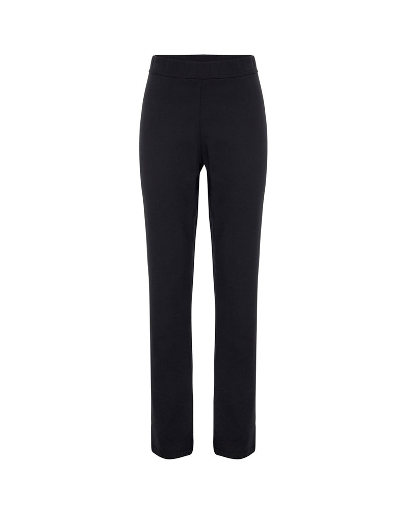 Long Slim Pant - Black