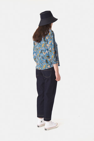 Lotus Blouse - Water
