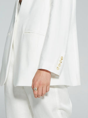 Load image into Gallery viewer, The Boss Blazer - Ivory