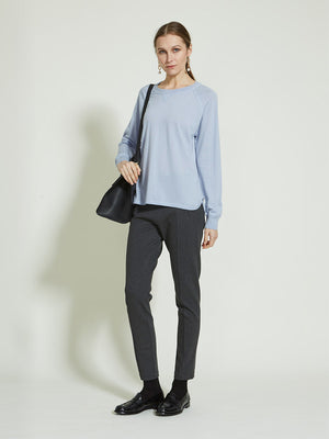 Sara Sweater - Alaska Blue