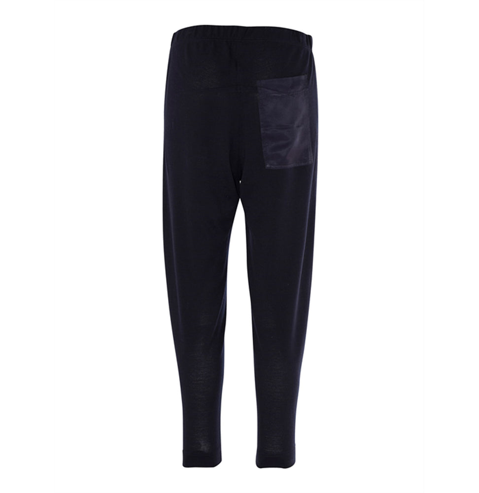 Gabriella Wool Jogger - French Navy