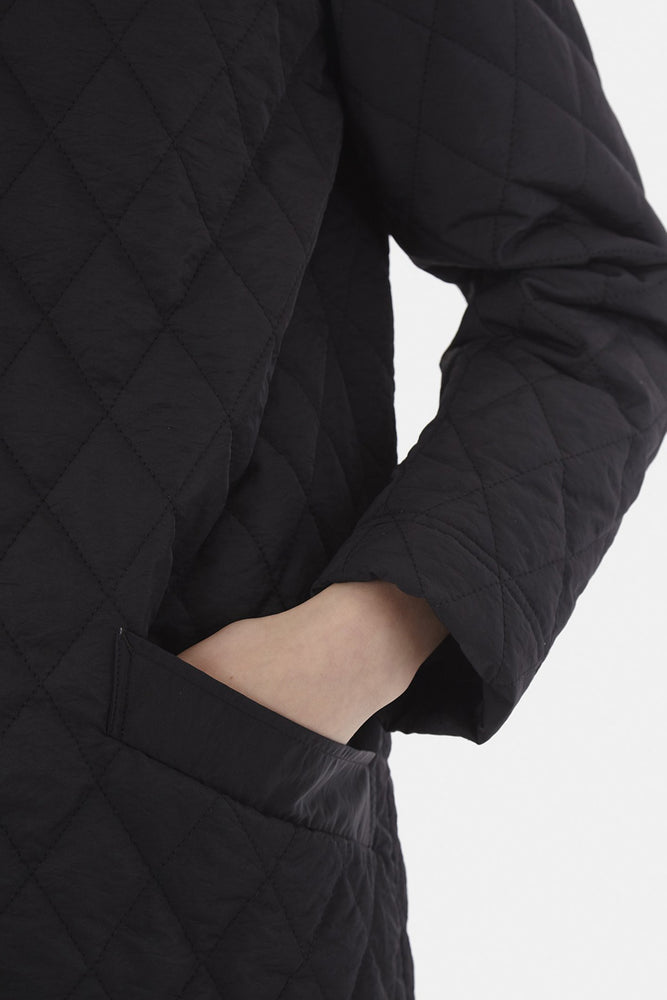 Load image into Gallery viewer, Quilted Parka - Black