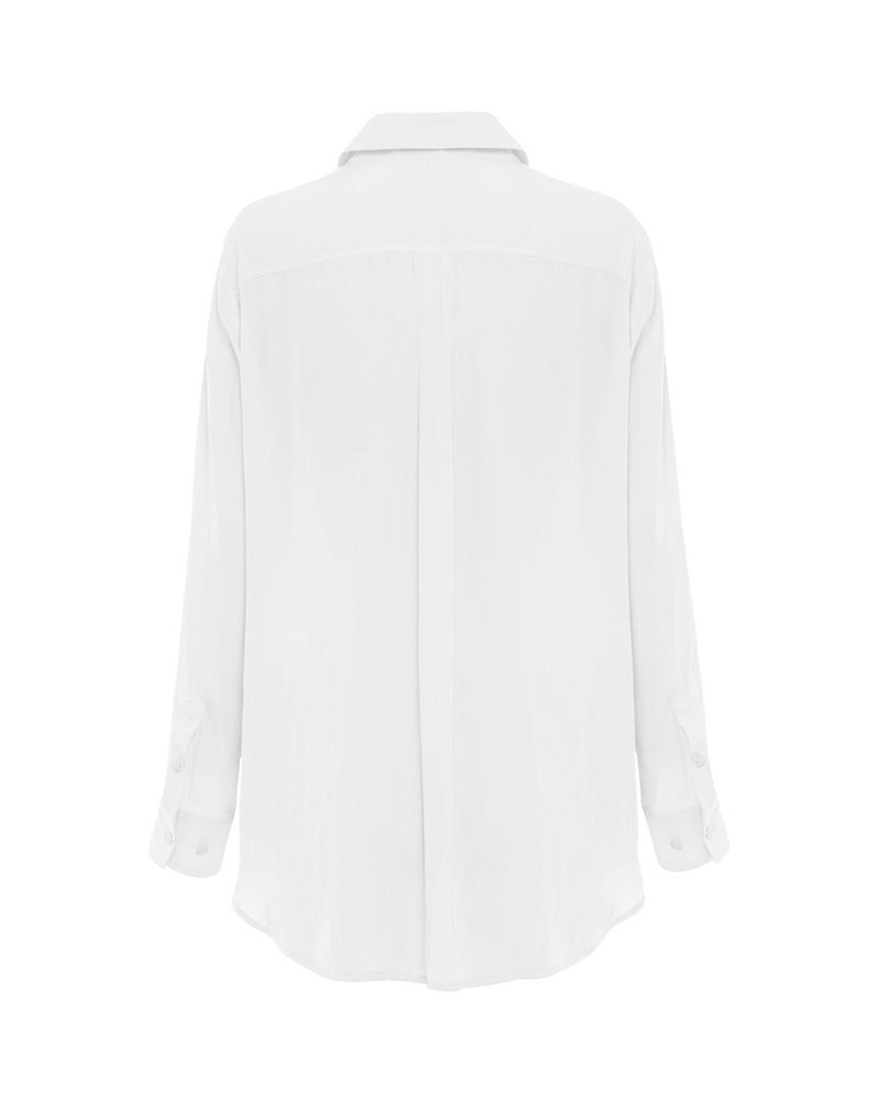 Load image into Gallery viewer, Soft Pocket Shirt - White