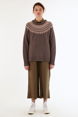 Fairisle Jumper - Black
