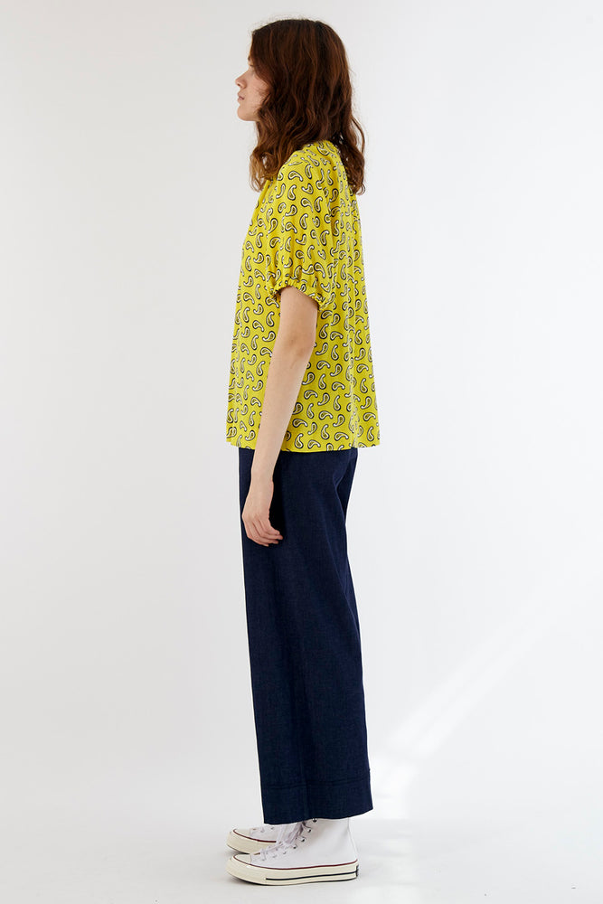 Paisley Top - Buttercup