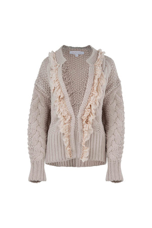 Load image into Gallery viewer, The Eternal Snuggle Cardigan - Almond