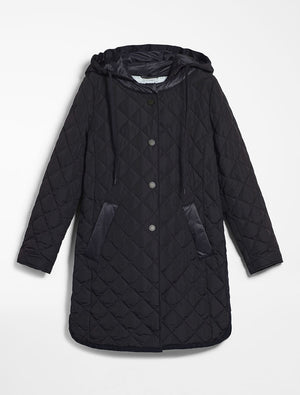 Padded Down Jacket - Navy
