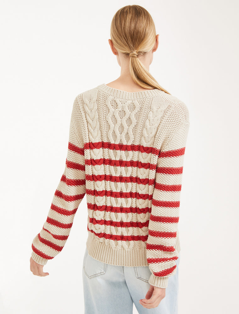 Chiffon Jumper - Red