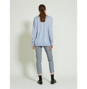 Load image into Gallery viewer, Adele V Neck - Alaska Blue