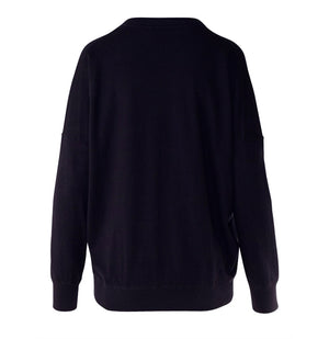 Brixton Sweater - Neat Navy