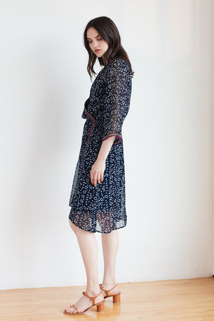 Ingrid Dress - Navy