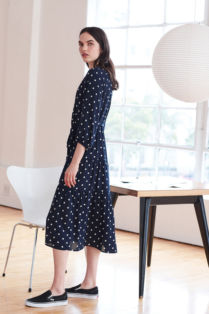 Load image into Gallery viewer, Maddy Dress - Polka Dot