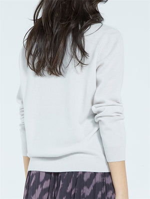 Load image into Gallery viewer, Viola Cashmere Boatneck - Vapour