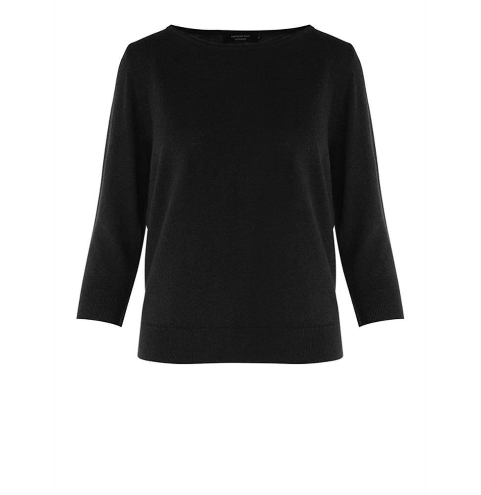 Load image into Gallery viewer, Viola Cashmere Sweater - Black