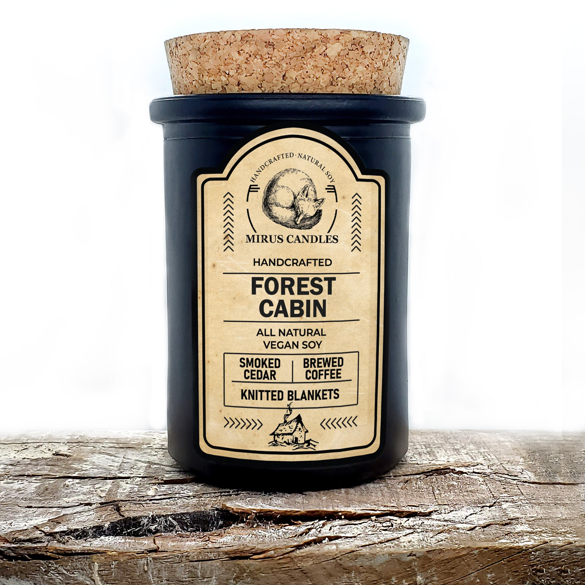 Forest Cabin | All Natural Soy Candle 6oz