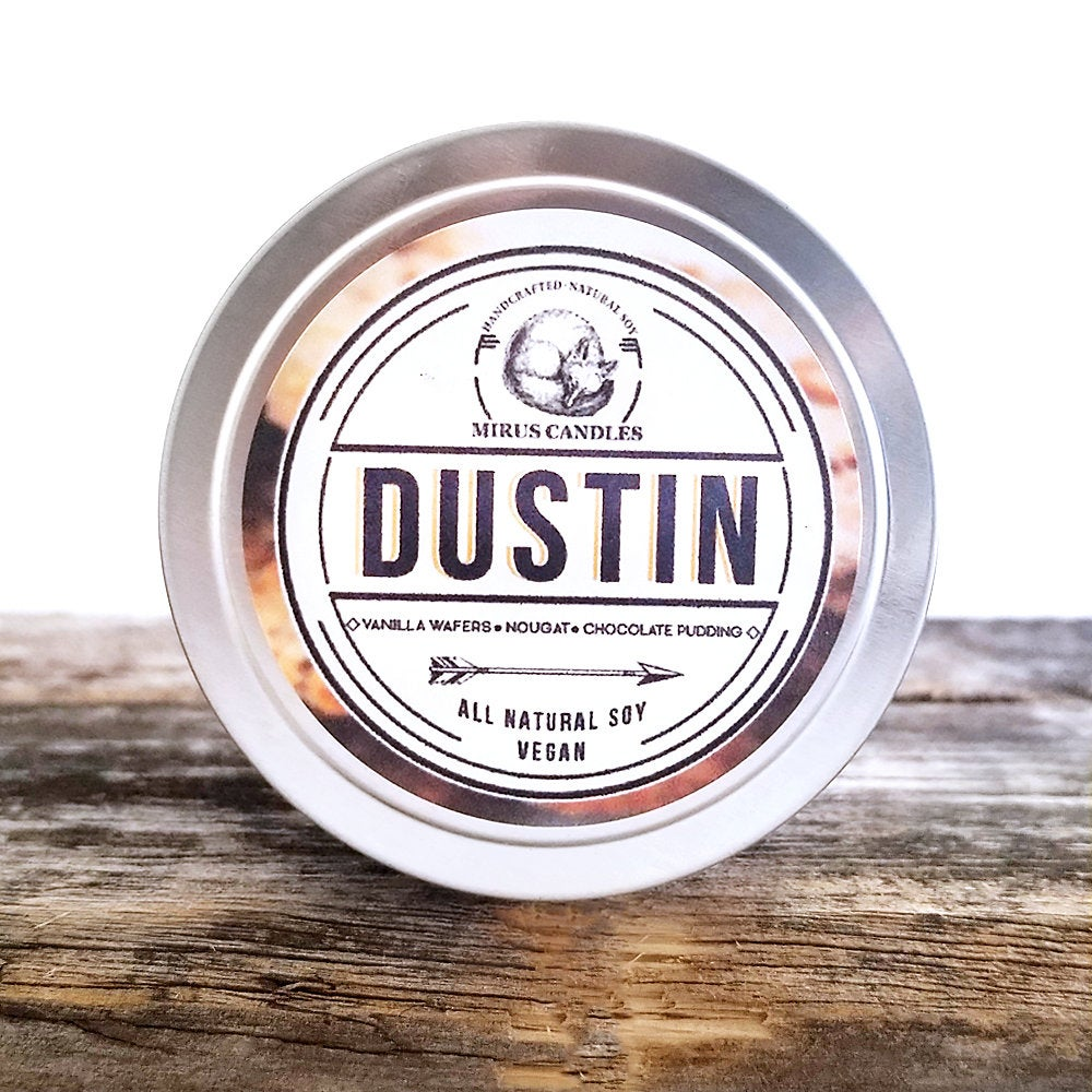 Dustin | Stranger Things Inspired Soy Candle 4oz