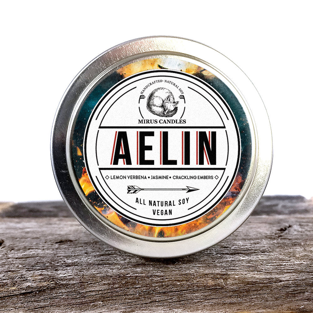 Aelin | Throne of Glass Inspired Soy Candle 4oz