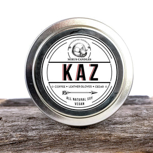 Kaz | Six of Crows Inspired Soy Candle 4oz