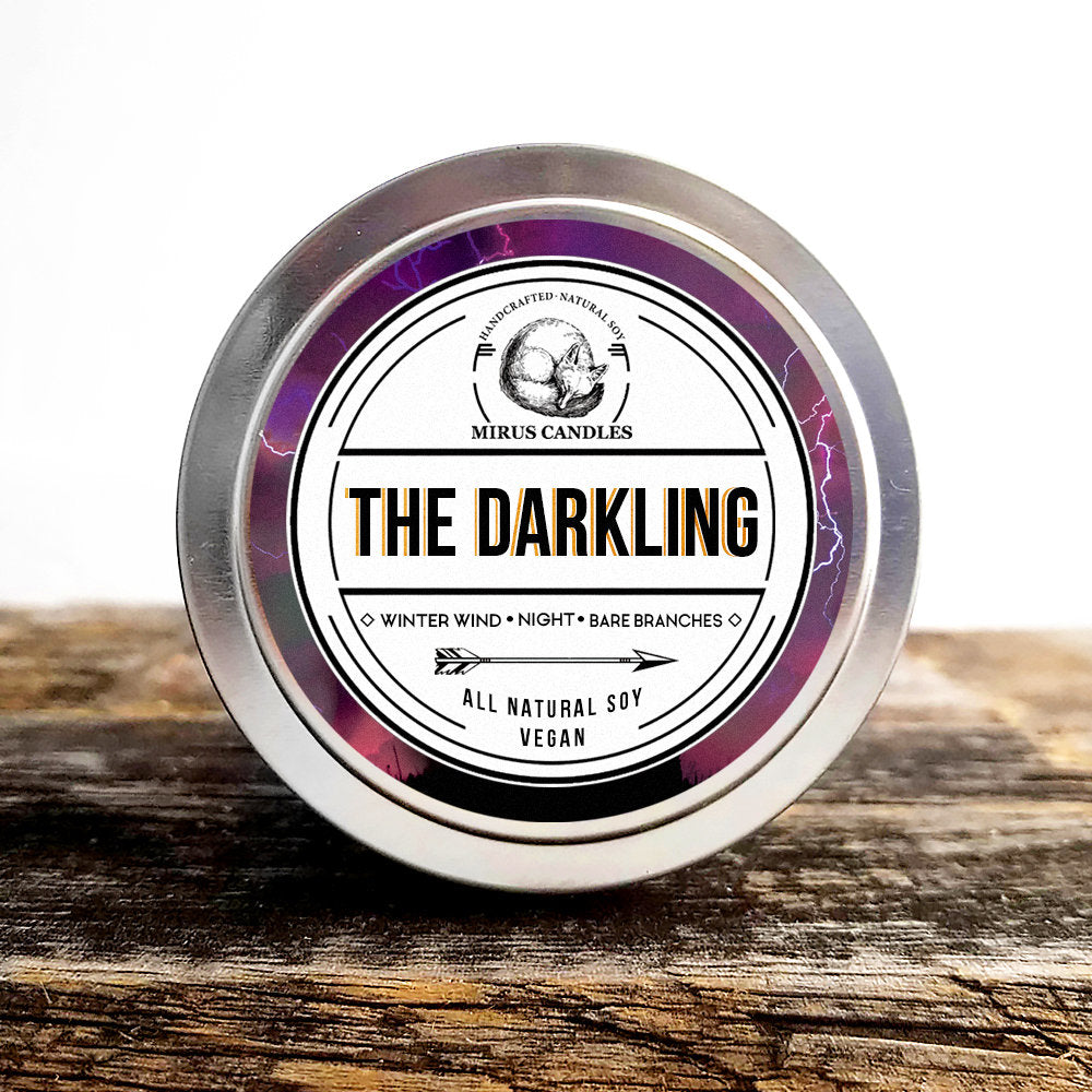The Darkling Soy Candle | Grisha Inspired Candle - Bookish Candle - 4oz All Natural Vegan Soy- Mirus Candles
