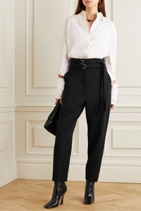 Proenza Schouler Double Belted Tapered Pant
