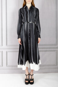 Judina Belted Shirtdress - Trope L'Oeil