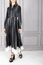 Load image into Gallery viewer, Judina Belted Shirtdress - Trope L'Oeil