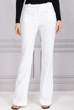 Load image into Gallery viewer, Serge Bootcut Pant - White