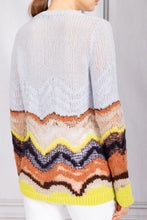 Load image into Gallery viewer, Felipe Hand Knit Sweater - Halogen Blue Multi