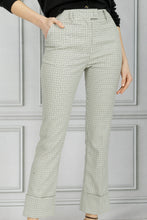 Load image into Gallery viewer, Kiko Cuffed Pant - Ivory Multi