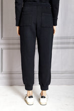 Load image into Gallery viewer, Charley Tie Waist Pull On Pant - Onyx