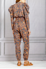 Load image into Gallery viewer, Meadow Puff Sleeve Jumpsuit - Canyon