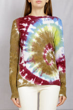 Load image into Gallery viewer, Miller Crewneck Pullover - Psychedelic Tie Dye