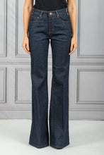 Load image into Gallery viewer, San Fan Highwaisted Flare Denim Jean - Raw