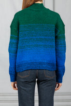Load image into Gallery viewer, Cropped Ombre Pullover - Emerald