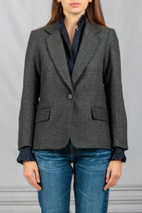 Humphrey Patch Elbow Jacket - Charcoal