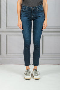 The Prima Ankle Cigarette Ankle Denim Jean - Concord