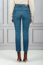 Load image into Gallery viewer, Isabelle High Rise Straight Crop Denim Jean - 10 Year Alliance