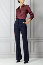 Load image into Gallery viewer, Maslin Double Collar Shirt - Beste Burgundy