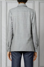 Load image into Gallery viewer, Cruz Button Down Shirt - Light Grey